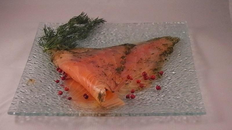 saumon fum la ficelle tranch main ecossais bio truite francaise gravlax de qualit. Black Bedroom Furniture Sets. Home Design Ideas