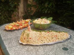 salade de ble et thon piemontaise fait maison