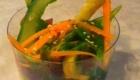 saumon fume salade asperge